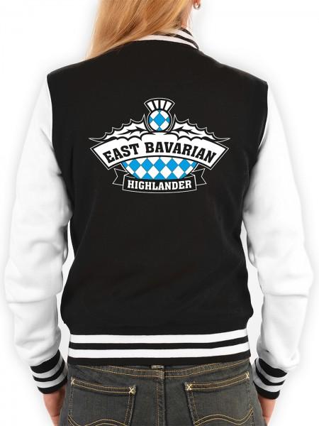Damen College Jacke mit Logo