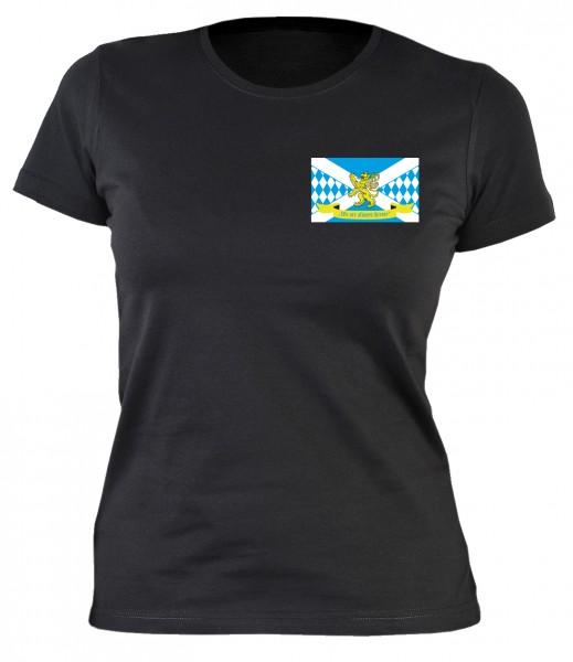 Girlie Shirt mit Logo